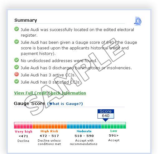 Tenant referencing service, credit checks - Landlord Direct